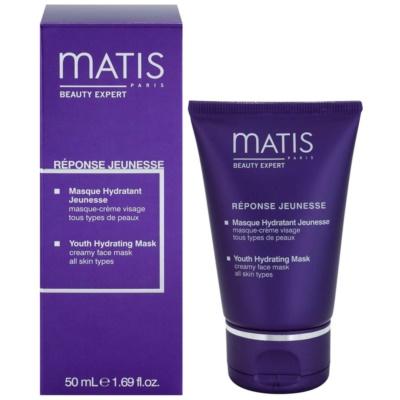 feuchtigkeitsspendende Gesichtsmaske für alle Hauttypen