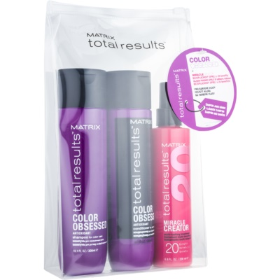 Matrix Total Results Color Obsessed козметичен пакет  I.