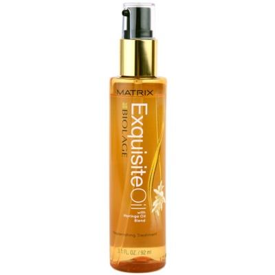 Matrix Biolage Exquisite óleo nutritivo  para todos os tipos de cabelos