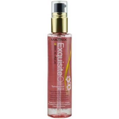 Matrix Biolage Exquisite olje za krepitev za tanke lase