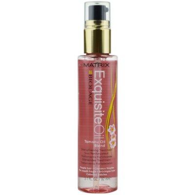 Matrix Biolage Exquisite erősítő olaj a finom hajért