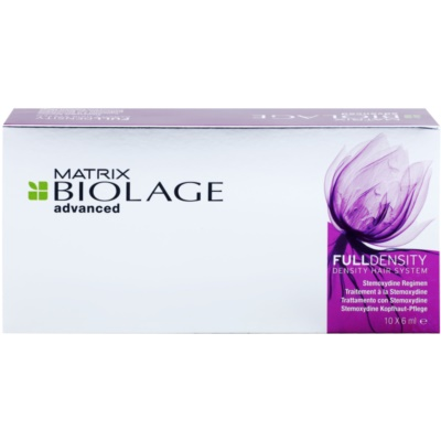 Matrix Biolage Advanced Fulldensity cure pour augmenter le volume des cheveux