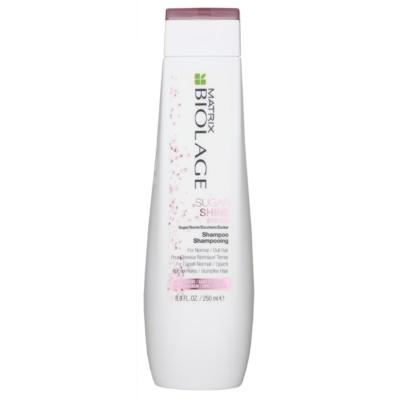 šampón pre lesk