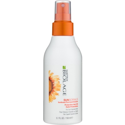 Protective Oil For Hair Stressed By Sun