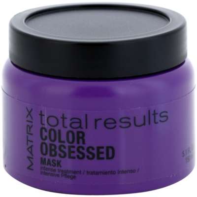 Matrix Total Results Color Obsessed maszk festett hajra