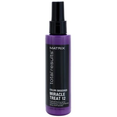 bezoplachová péče pro barvené vlasy