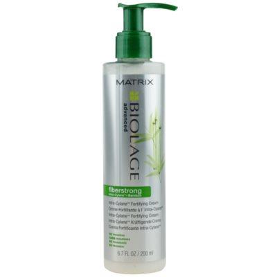 Matrix Biolage Advanced Fiberstrong nicht auszuspülende cremige Pflege für dünnes, gestresstes Haar