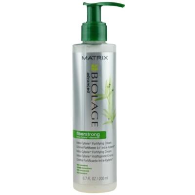 Matrix Biolage Advanced Fiberstrong незмиваючий кремовий кондиціонер для слабкого волосся