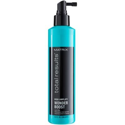 styling Spray für einen volleren Haaransatz