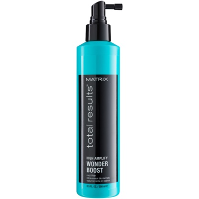 Matrix Total Results High Amplify spray para dar definición al peinado para dar volumen desde las raíces
