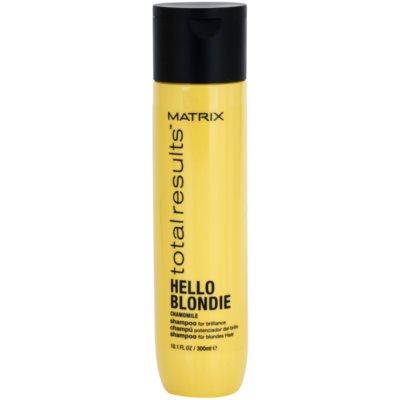 szampon ochronny do włosów blond