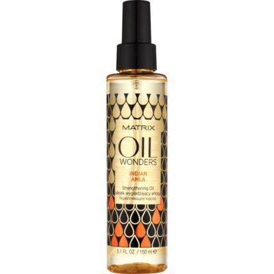 obnovující olej pro lesk a hebkost vlasů