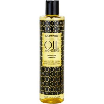 mikro-oljasti šampon za sijaj in mehkobo las