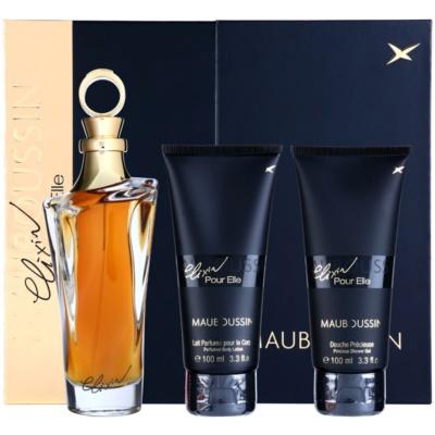 Mauboussin Mauboussin Elixir Pour Elle confezione regalo I  eau de parfum 100 ml + gel doccia 100 ml + latte corpo 100 ml
