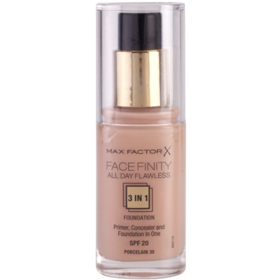 Max Factor Facefinity make-up 3 v 1