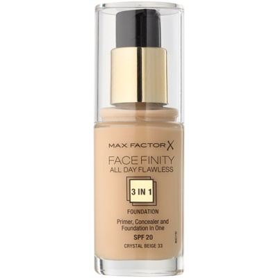 Max Factor Facefinity base 3 em 1