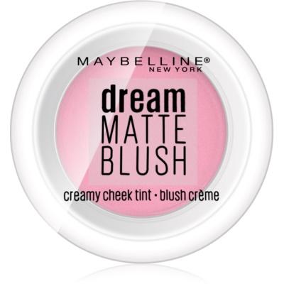 Maybelline Dream Matte Blush матові кремові рум'яна відтінок 40 Mauve Intrigue 6 гр