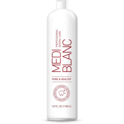 MEDIBLANC Pure & Healthy enjuague bucal para un aliento fresco y duradero