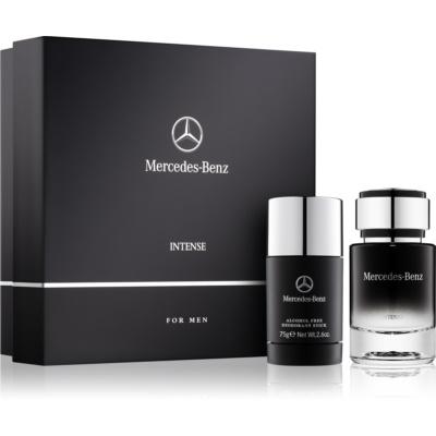 Mercedes-Benz For Men Intense σετ δώρου II. Eau de toilette 75 ml + αποσμητικό σε στικ 75 g