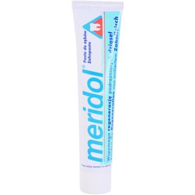 Zahnpasta unterstützt die Regeneration von gereiztem Zahnfleisch