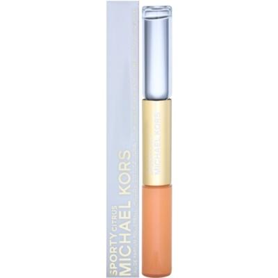 Parfumska voda roll-on za ženske 2 x 5 ml + sijaj za ustnice