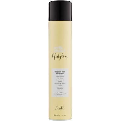 spray fijador para cabello con fijación media