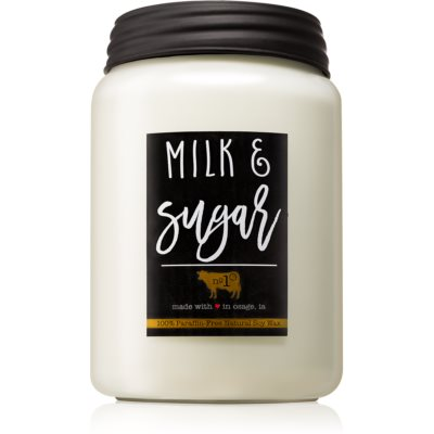 Milkhouse Candle Co. Farmhouse Milk & Sugar Scented Candle  Mason Jar