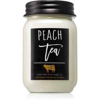 Milkhouse Candle Co. Farmhouse Peach Tea vela perfumada