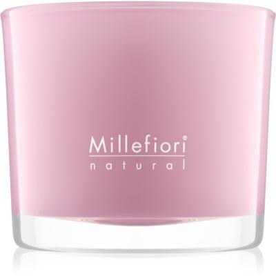Millefiori Natural Magnolia Blosoom & Wood ароматизована свічка  180 гр