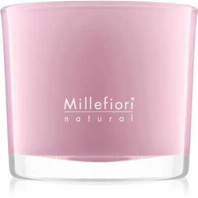 Millefiori Natural Magnolia Blosoom & Wood Scented Candle