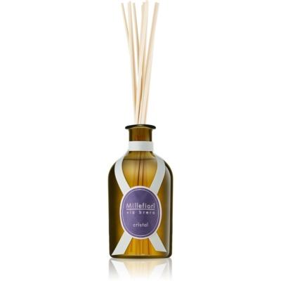 Millefiori Via Brera Cristal diffuseur d'huiles essentielles avec recharge