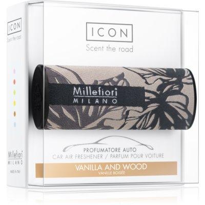 Millefiori Icon Vanilla & Wood vôňa do auta    Textile Geometric
