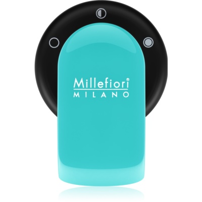 Millefiori GO Sandalo Bergamotto Car Air Freshener   Acquamarina