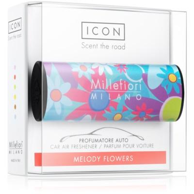 Millefiori Icon Melody Flowers ambientador auto   Cuori & Fuori