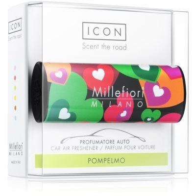 Millefiori Icon Pompelmo deodorante per auto   Cuori & Fuori
