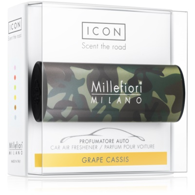Millefiori Icon Grape Cassis Auto luchtverfrisser    Animalier