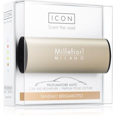 Millefiori Icon Sandalo Bergamotto mirisi za auto   Metallo