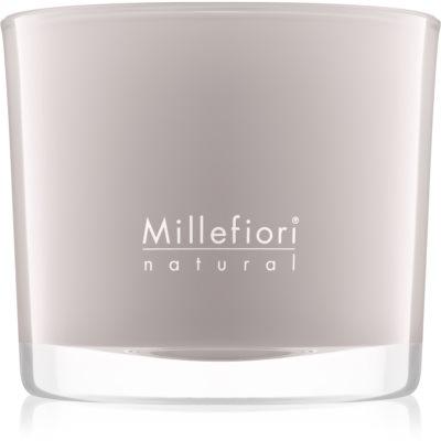 Millefiori Natural White Musk vela perfumada