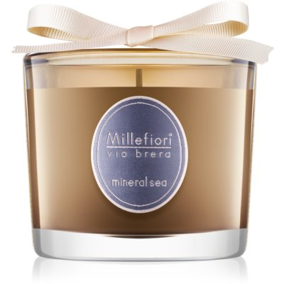 Millefiori Via Brera Mineral Sea Scented Candle
