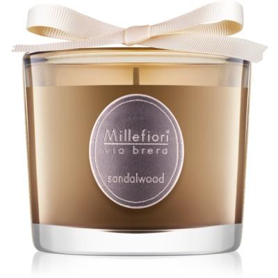 Millefiori Via Brera Sandalwood Scented Candle