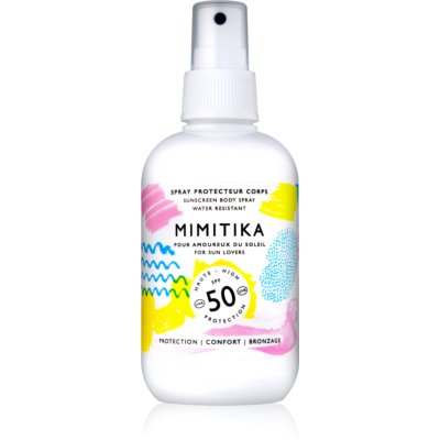 Mimitika Sun spray solar SPF50