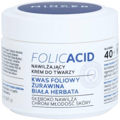 creme facial hidratante 40+
