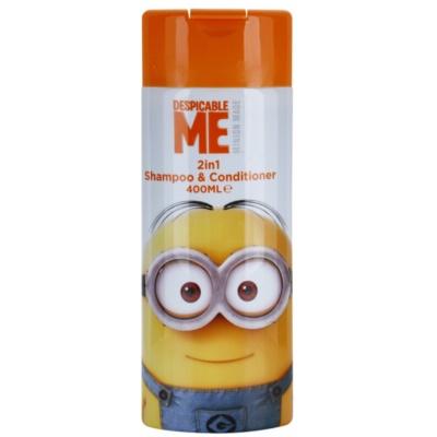 Minions Hair shampoo e balsamo 2 in 1