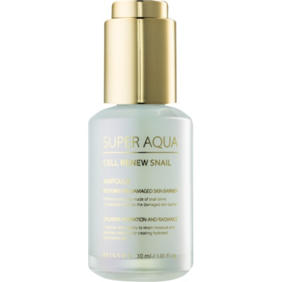 Regenerating Skin Serum with Snail Extract