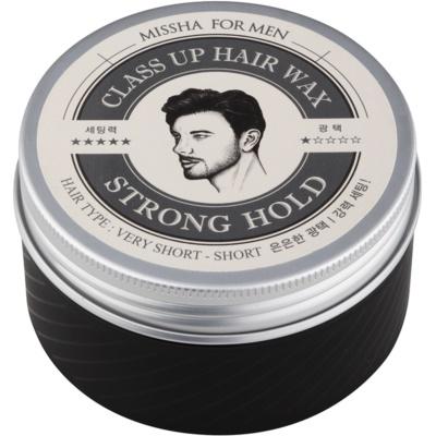 Missha For Men Class Up Hair Wax cera de cabelo para uma fixação forte
