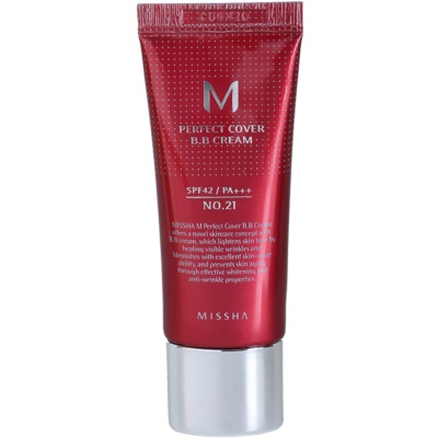Missha M Perfect Cover BB Cream With Very High Sun Protection Small Pack