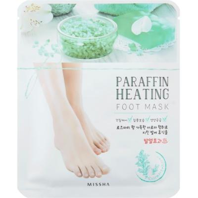 Missha Paraffin Heating Paraffin Leg Mask with Warming Effect