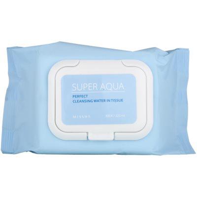 reinigende Gesichtstücher mit feuchtigkeitsspendender Wirkung