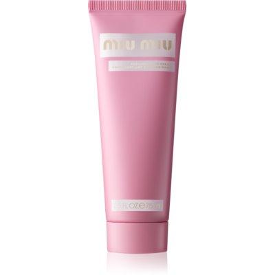 Miu Miu Fleur d'Argent krém na ruce pro ženy 75 ml