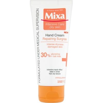 eine Crem zum Schutz von Händen und Nägeln für extra trockene Haut